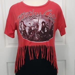 Motley Crue Fringe T-shirt